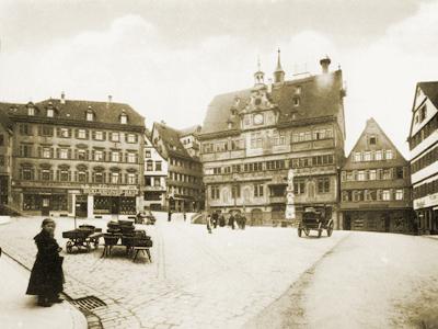 Antiquitäten am Markt, Historischer Marktplatz Tübingen