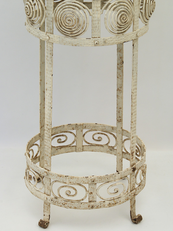 blumenst nder eisen geschmiedet um 1900 antiquit ten. Black Bedroom Furniture Sets. Home Design Ideas