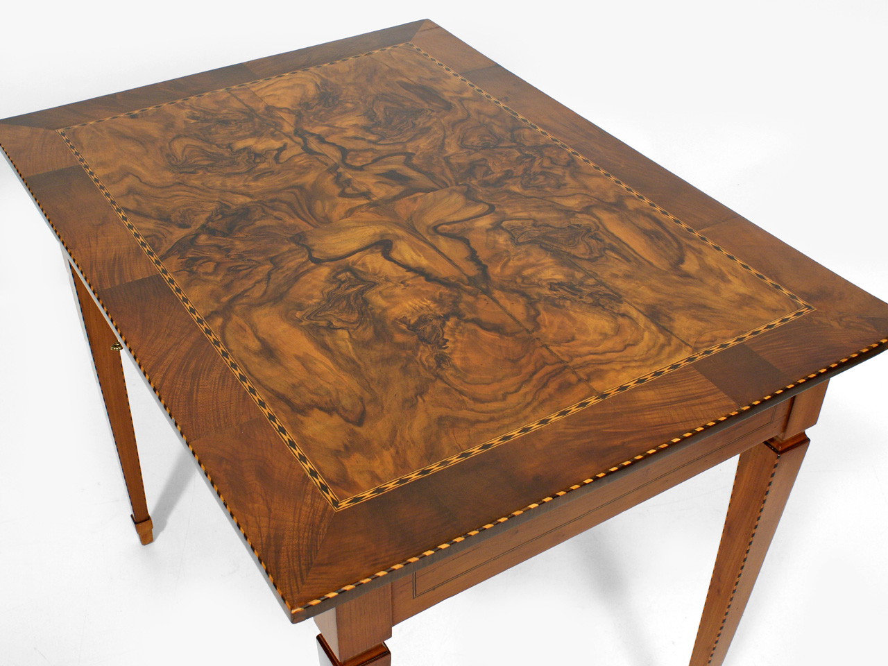 louis seize tisch kirschbaum 1 drittel 19 jh antiquit ten am markt t bingen. Black Bedroom Furniture Sets. Home Design Ideas