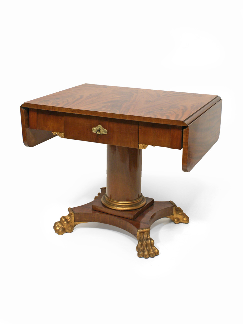 art nr 3013 tisch mahagoni 2 h lfte 19 jh antiquit ten am markt t bingen. Black Bedroom Furniture Sets. Home Design Ideas