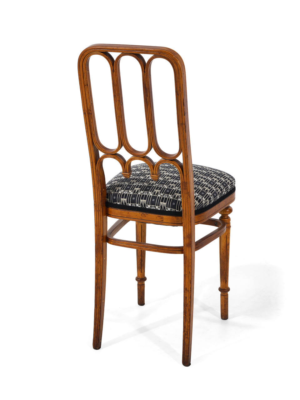 art nr 569 polsterstuhl firma thonet um 1900 antiquit ten am markt t bingen. Black Bedroom Furniture Sets. Home Design Ideas