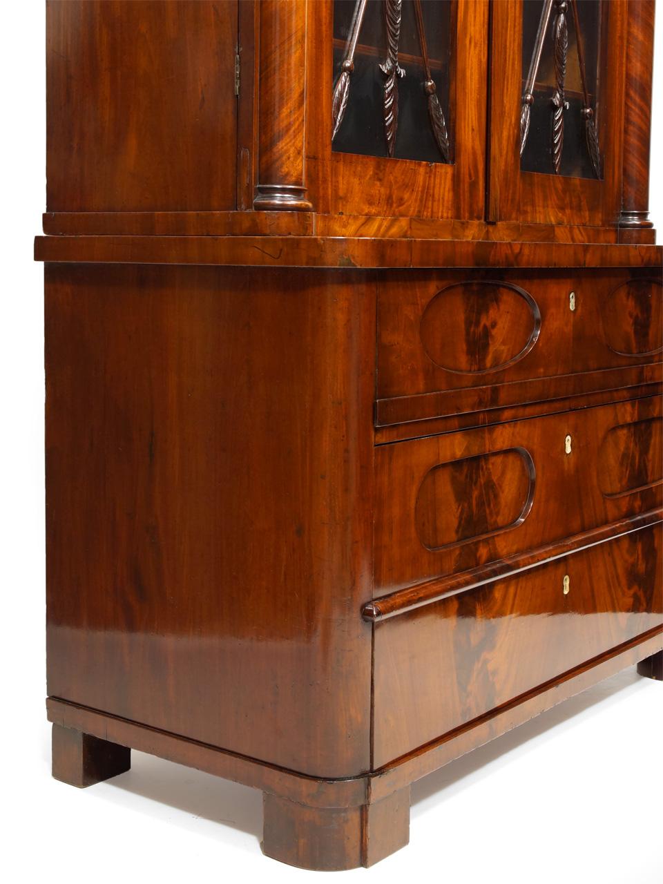 bibliothek schrank stunning fabulous wohnzimmer regal. Black Bedroom Furniture Sets. Home Design Ideas