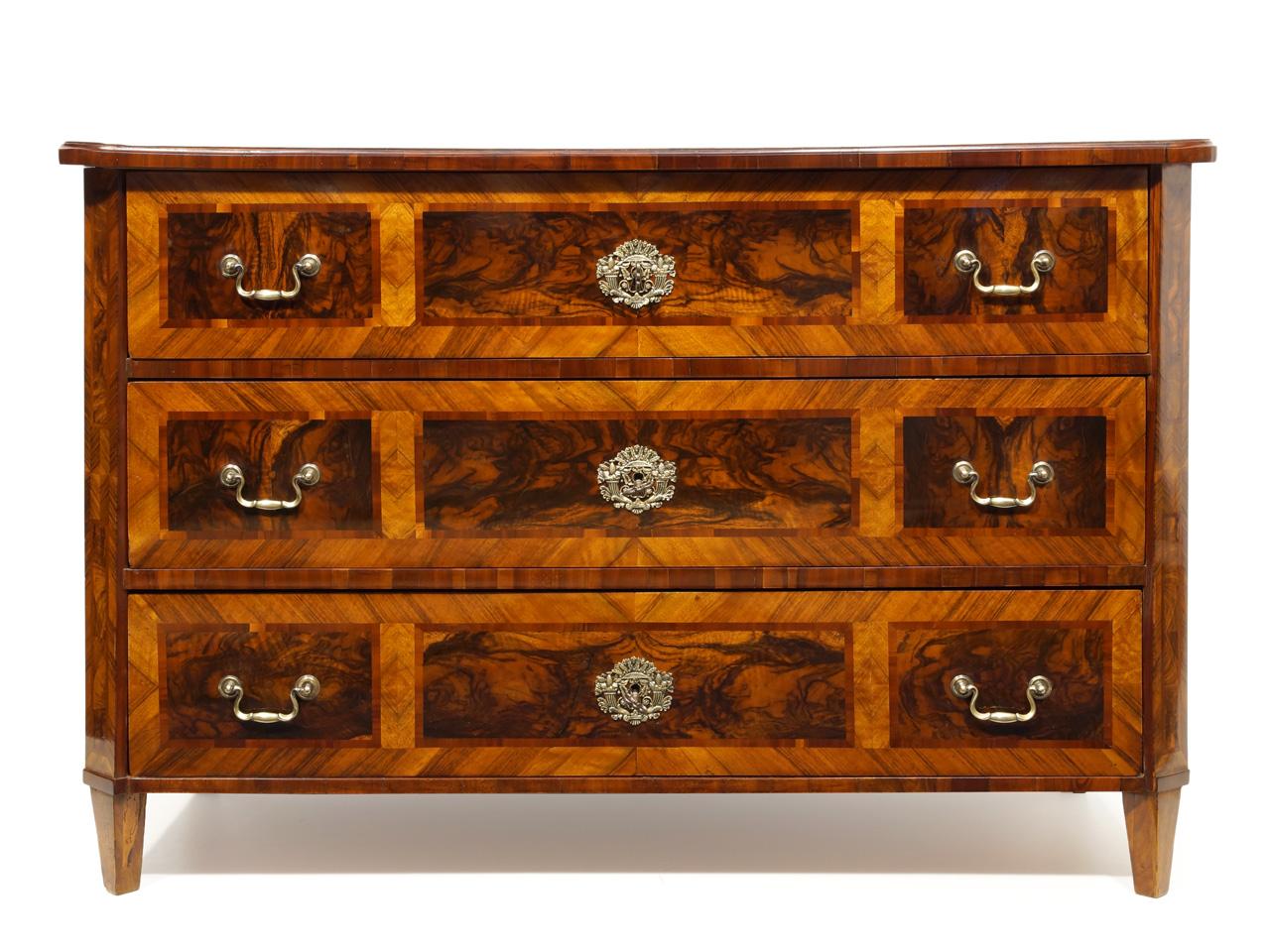 art nr 4081 louis seize kommode mit w rfelmaketerie s ddeutschland um 1800 antiquit ten am. Black Bedroom Furniture Sets. Home Design Ideas