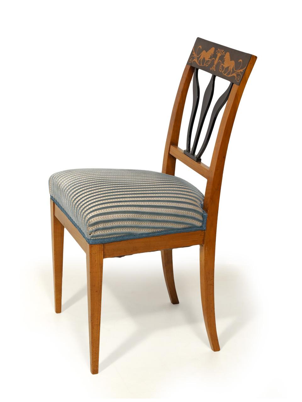 art nr 4173 biedermeierkirschbaumstuhl mit. Black Bedroom Furniture Sets. Home Design Ideas