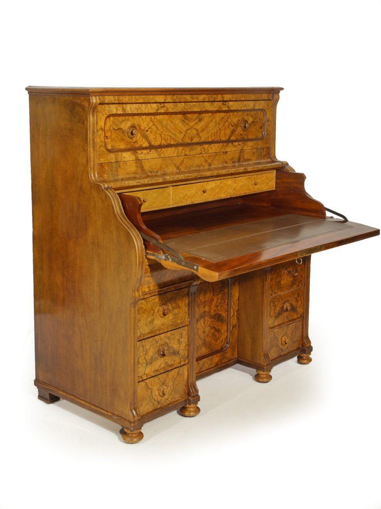 Art.Nr. 4241 Sekretär mit Stehpult, Registratur, um 1870 ...