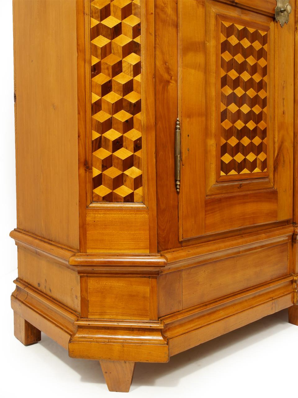 kirschbaum schrank free antiker biedermeier with. Black Bedroom Furniture Sets. Home Design Ideas